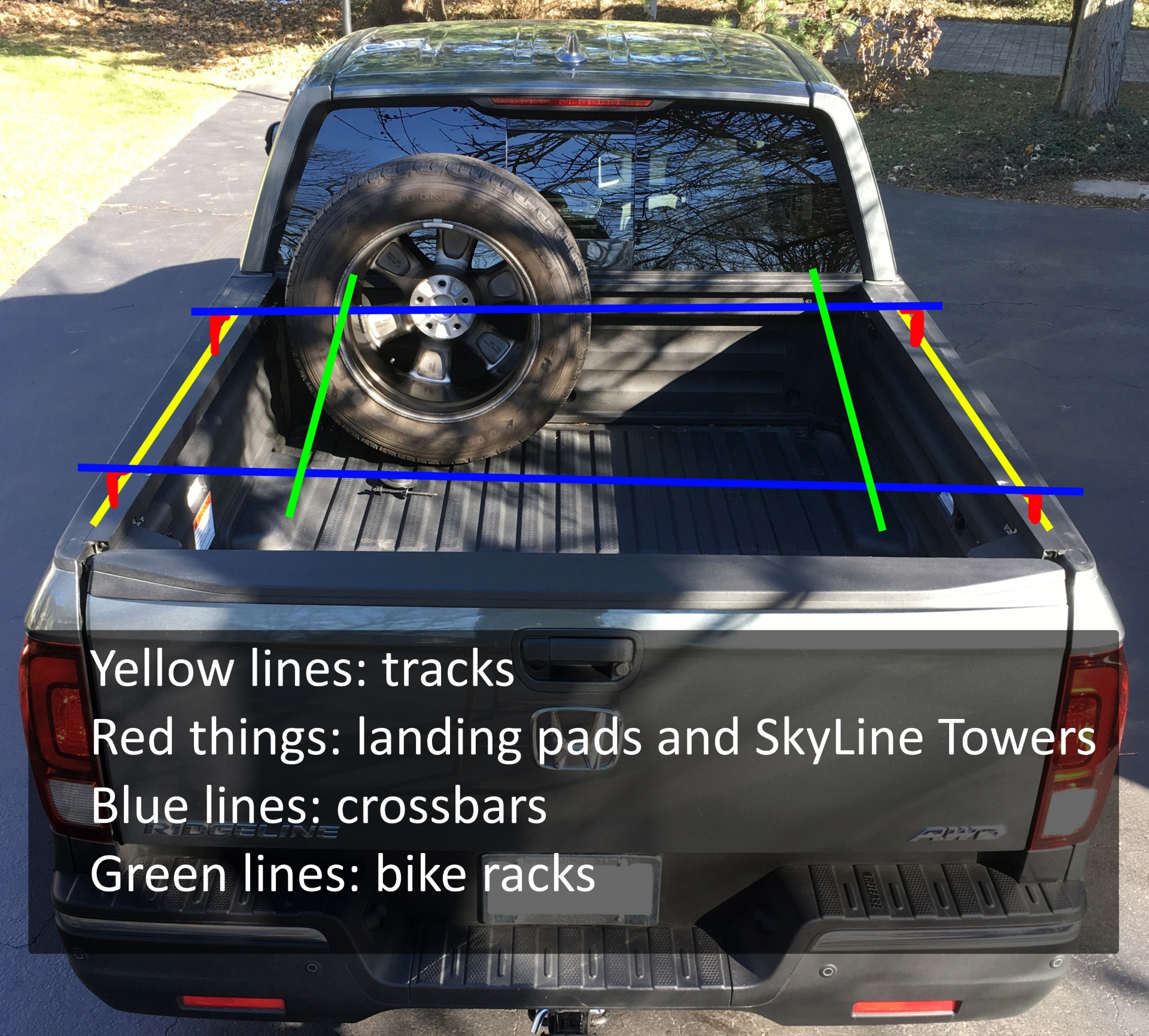 4 Ideas To Mount A Bike Rack Over The Tonneau Cover Their Trucks
